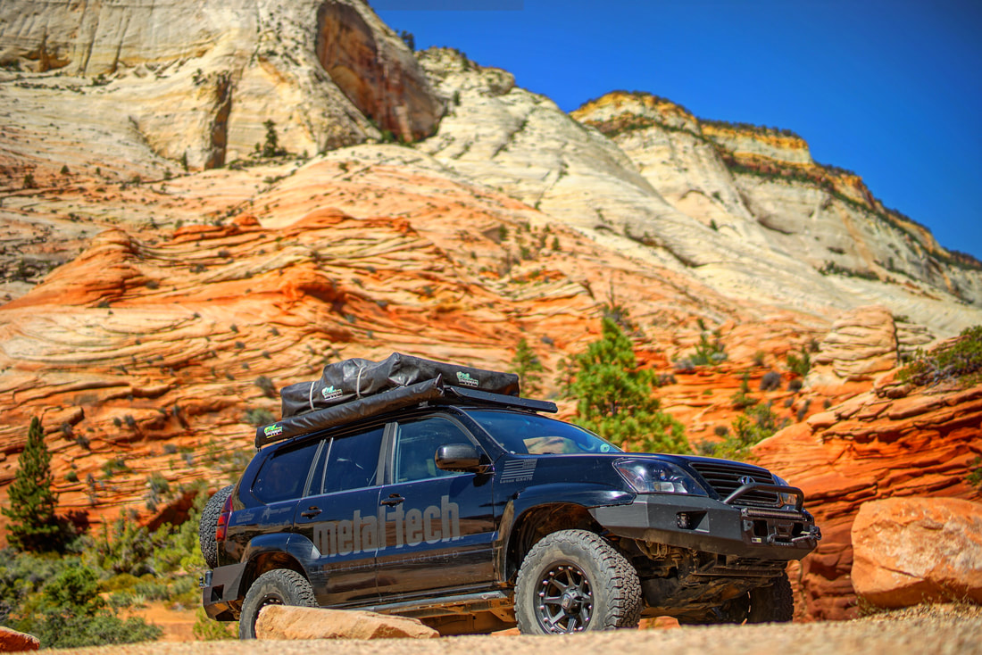 Metal Tech 4x4 Lexus GX470 at Zion National Park