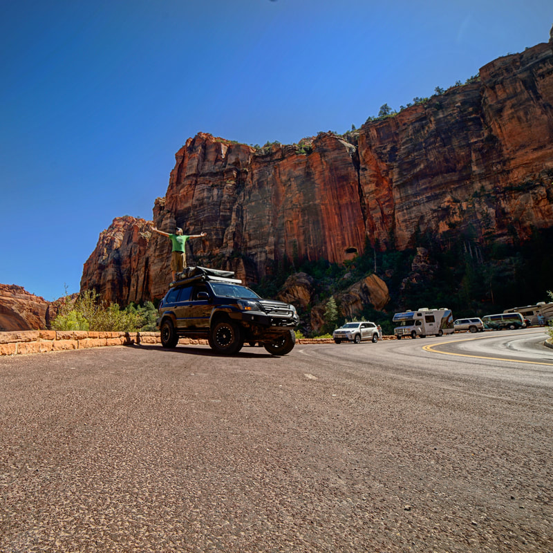 Capture the Journey while visiting Zion National Park